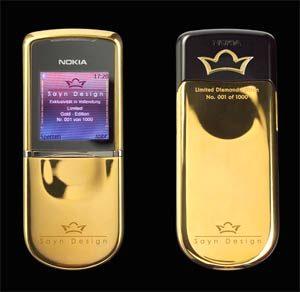 Nokia 8800 Sirocco phiên bản kim cương