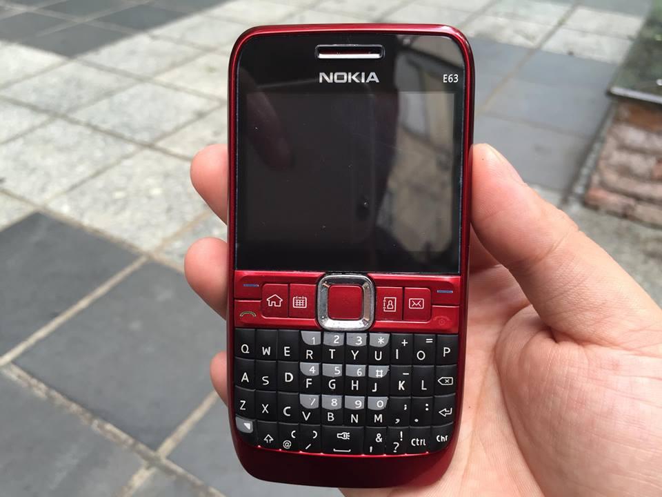 Điện Thoại Nokia E63 Chính Hãng