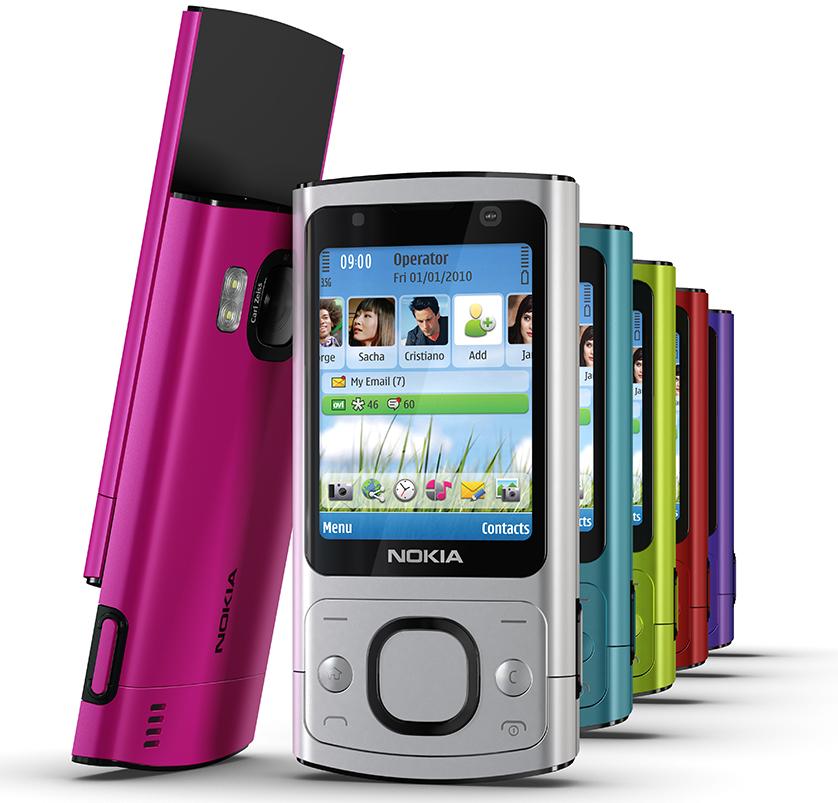 Điện thoại nokia 6700s